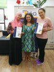 Вручение сертификатов выпускникам курса «Основы последовательного перевода»